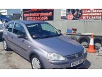 Vauxhall Corsa 1.0 low miles