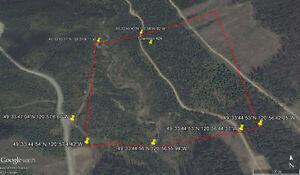 Placer Gold Claim - Britton Creek, near Tulameen, BC - T42A