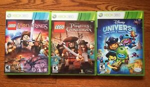 Lego and Disney Xbox 360 Games