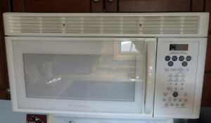 Frigidaire Gallery over the stove microwave