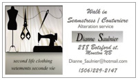 Walk-in Seamstress/ Couturiere