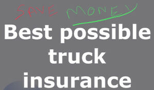 Best possible truck insurance