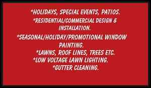 Free Christmas lighting and or window painting quote Kingston Kingston Area image 3