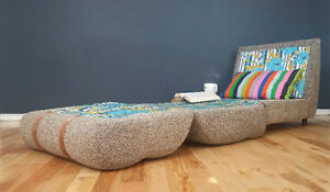 70's Pair Vintage Mid century Daybed Lounger Great condition!!