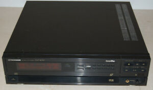 RARE! Pioneer Laser Disc LD CD CDV Video Player CLD-1030
