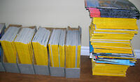 Over 100 National Geographic & Canadian Geographic Magazines