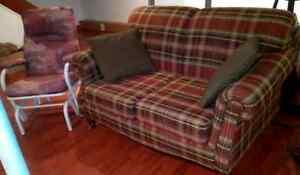 Living room set- sofa & love seat Gatineau Ottawa / Gatineau Area image 1