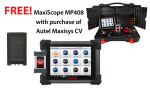Autel MaxisysCV Heavy Duty Scanner with Free MP408 Special $3995