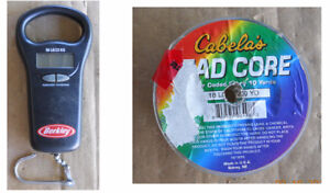 LeadCore Fishing Line and Scale