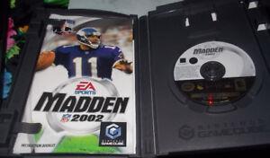 jeu nintendo gamecube EA NFL madden 2002 - prix 5$