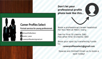 Professional, AFFORDABLE career headshots at NSCC!
