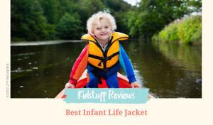 Infant life jacket NEW