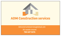 ADM construction and cleaning services