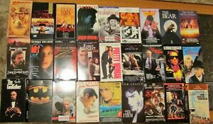59 Original VHS Movies – Many Hours of Enjoyment only $1 Each Kitchener / Waterloo Kitchener Area image 2