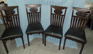 Table and 4 Chairs asking $45.00