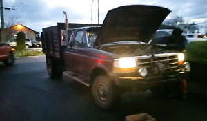 1987 f350 4x4 automatic with dump