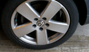 VW Passat (B6) wheels
