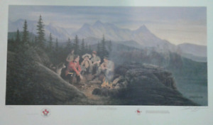 James Lumbers RCMP print  - cultural exchange