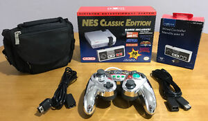 NES Classic, Extra Accessories, Open Box, Like New, 260$