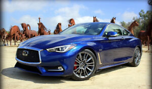 2017 Infiniti Q60 3.0t Red Sport 400 Coupe  - Loaded!