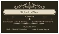 Renovations & Repairs