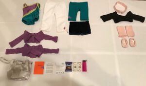 American Girl Dance & Gymnastics set
