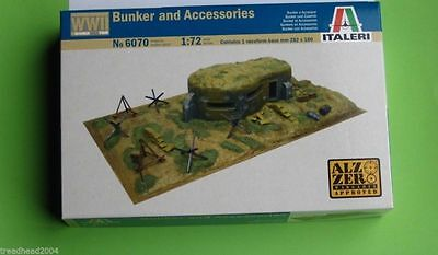 Bunker and Accessories 1/72 scale Terrain kit 6070