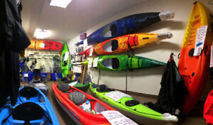 LIQUIDATION on all of our KAYAKS of different styles and colors!