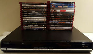 HD DVD Player w/29 DVDs - Only $75