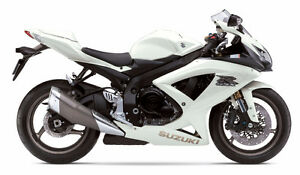 WANTED: 2009 GSXR-600 WHITE FAIRINGS!