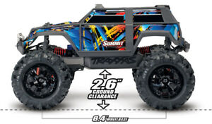 Traxxas Summit 1/16 4WD extreme terrain monster truck