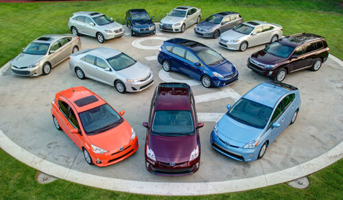 Toyota Has Sold 6 Million Hybrids