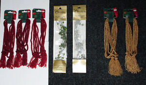 Garland for Christmas tree, wreaths, crafts, staircases Home Dec