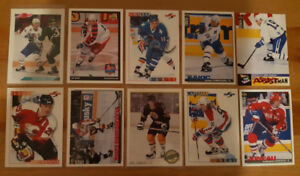 Joe Sakic, Joe Nieuwendyk, Joe Juneau set of 10 hockey cards!