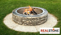 Granite Stone Fire pits - 15% OFF sale in August!