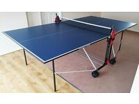 Dunlop Evo 600 Ping Pong Tennis Table (BLUE Color)