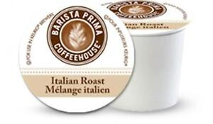 Barista Prima Coffeehouse Italian Roast Coffee Keurig K-Cups 96-Count
