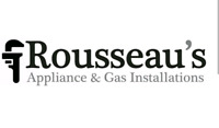 Appliance installation by Rousseaus appliances