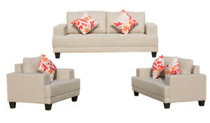 WAREHOUSE CLEARANCE SOFASET WITH PILLOWS