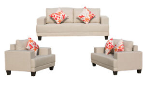 FACTORY DIRECT SOFA WITH PILLOWS