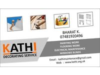 Painting Flooring Doors & Windows Carpenter Driveways or any other building work