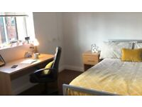 STUDENT ROOMS TO RENT IN SHEFFIELD.APARTMENT WITH PRIVATE ROOM, BATHROOM, GARDEN AND LOUNGE AREA