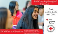 Canadian Red Cross Psychological First Aid Course