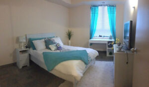 ONE room left in a 4 bedroom/2 bath suite! One female/one male