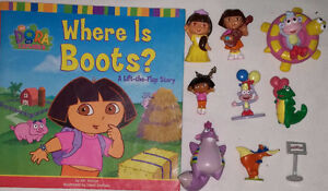 9 set of Qty 9 Dora Toys & Book 1 Set of Qty 9 Diego Toys & Book London Ontario image 8