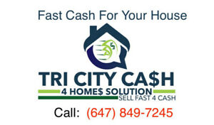 Will buy your home for cash today!