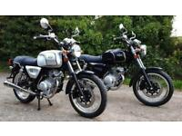 AJS Tempest Roadster 125cc Classic Motorcycle Learner Legal- In Stock Now