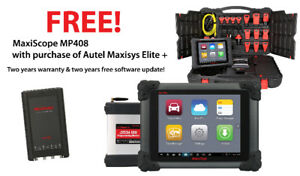 Autel MaxisysPro Auto Scanner with J2534 reflash & Free MP408