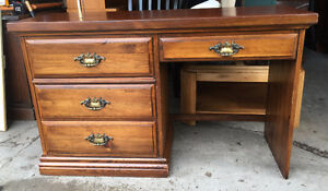 Thick Solid Wood Desk