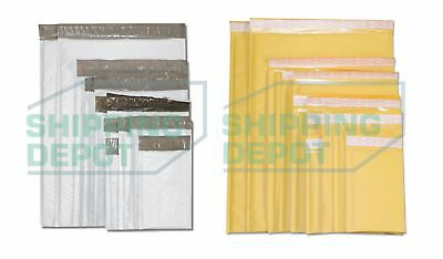 Choose Kraft Or Poly Bubble Mailers All Sizes And Quantities 0000 - 7